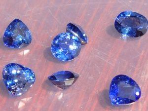 Pailin Blue Sapphire Stones