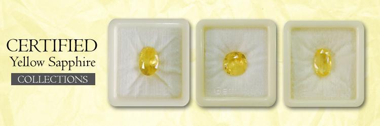 Yellow Sapphire Gemstone Pukhraj