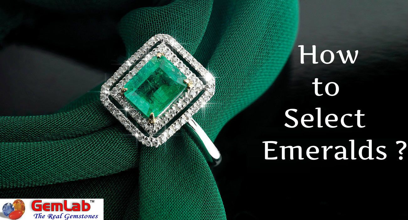 how to select emerald