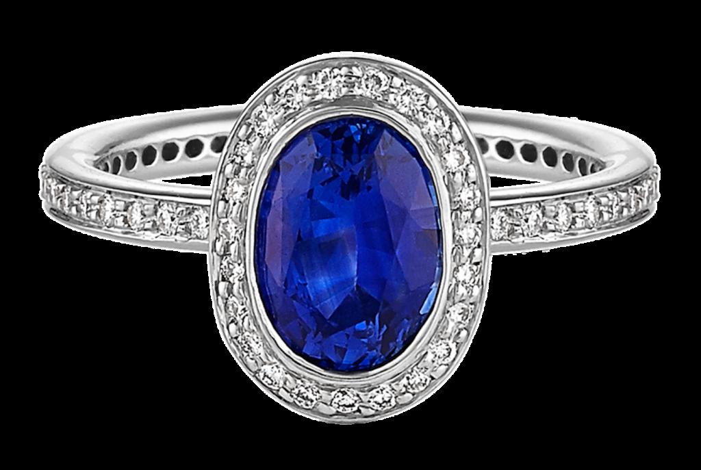Blue sapphire gemstone neelam