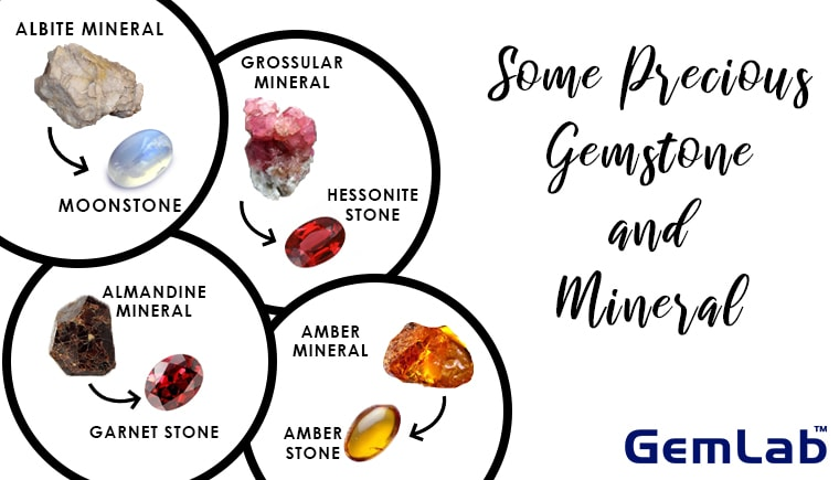 Some Precious Gemstone and Mineral